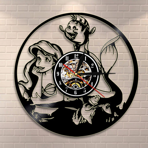 Large Wall Clock Wandklok Horloge