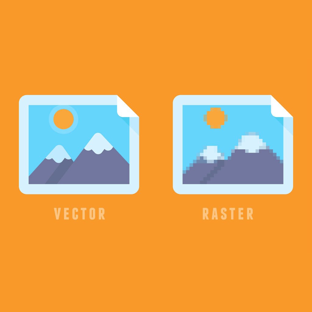 Raster vs. Vector Graphics: What's the Difference?