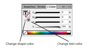 color palette in indesign
