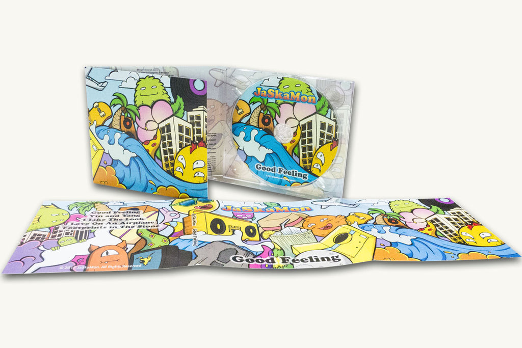 6 Panel Digipack Lite with Graphic Design by Atomic Disc