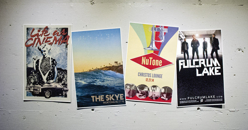 Band Posters from Atomic Disc