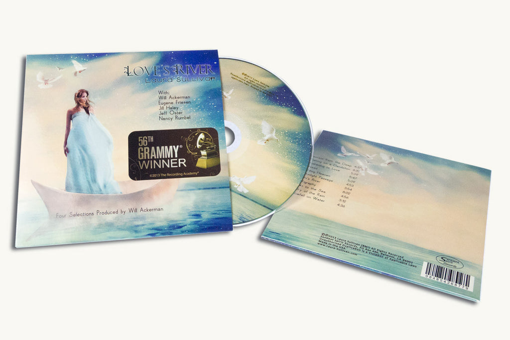 CD jackets are great alternatives to jewel cases even for Grammy winners.