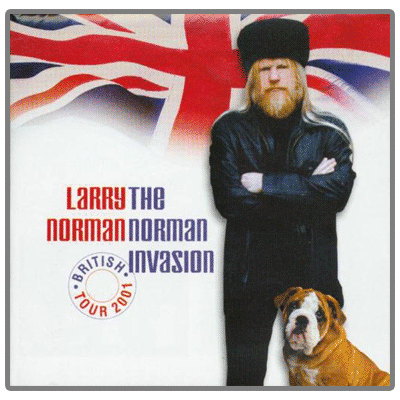 Graphic design for Larry Norman.