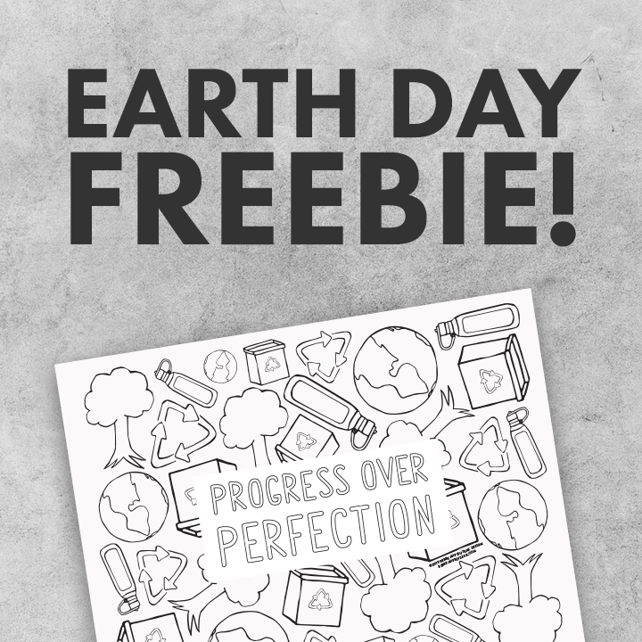 Free Earth Day Coloring Sheet