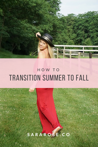 HOW TO: SUMMER TO FALL