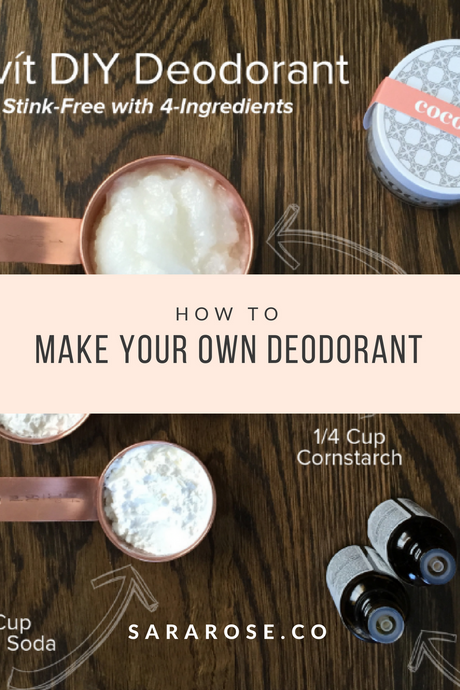 How to Make Your Own Cocovit Deodorant | DIY