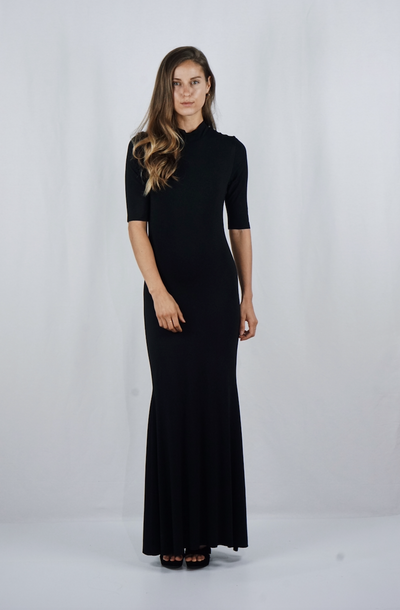 The Victoria Gown | Black - SARAROSE