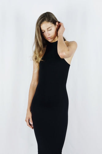 The Sararose Gown | Black - SARAROSE