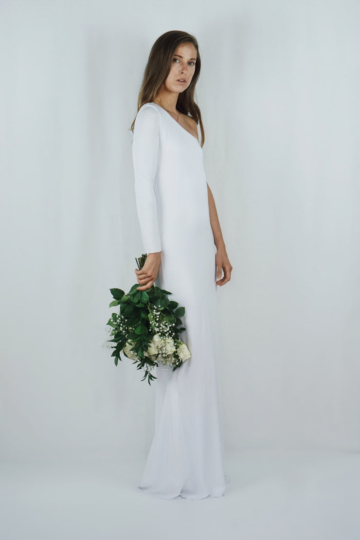 The Amelia Gown | White - SARAROSE