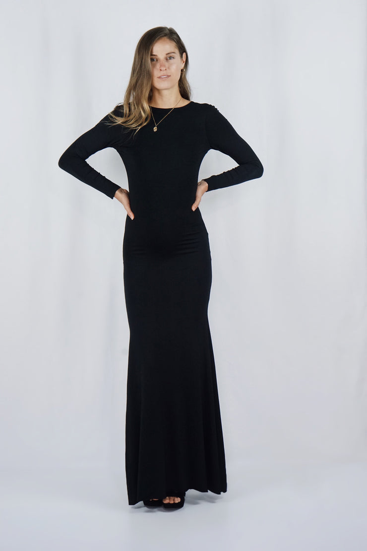 The Katherine Gown | Black - SARAROSE