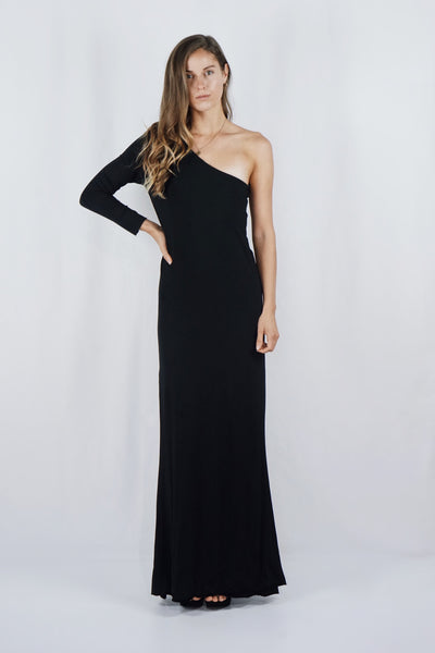 The Amelia Gown | Black - SARAROSE