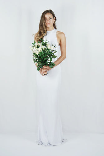 The Sararose Gown | White - SARAROSE