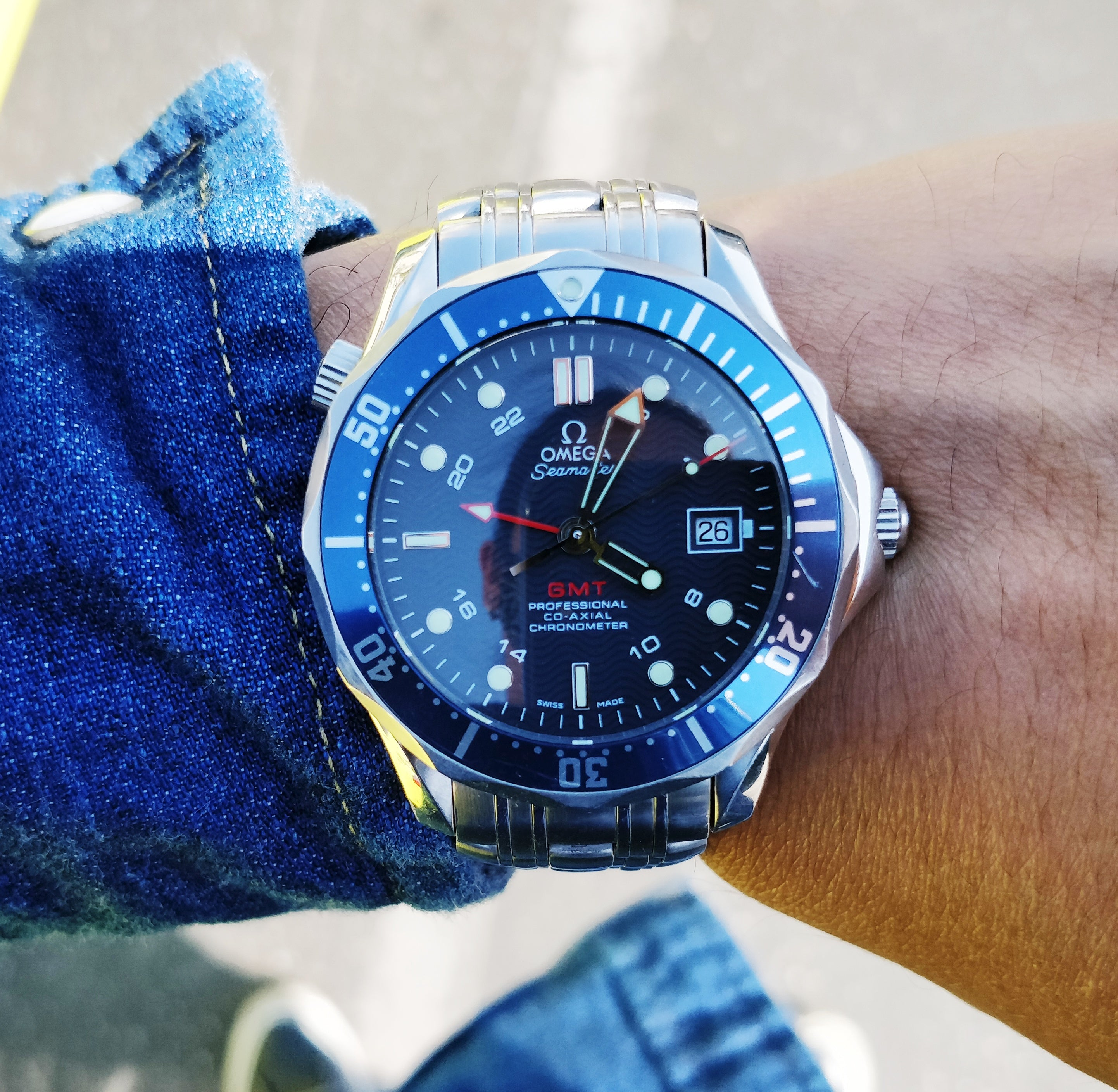 Omega Seamaster Professional 300m GMT Diver