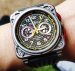 Bell & Ross br03-94 Rs18 Limited Edition Renault F1 Racing 42mm