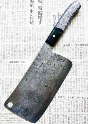 Isasmedjan Meat Cleaver checkout for Chef Michael Robins