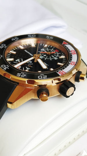 IWC Aquatimer Diver Flyback Chronograph 18k Rose Gold IW376903