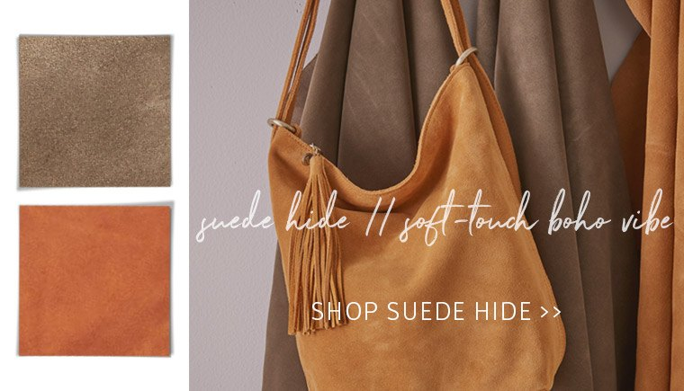 Check out our Suede Shop featuring coveted blogger favorites!