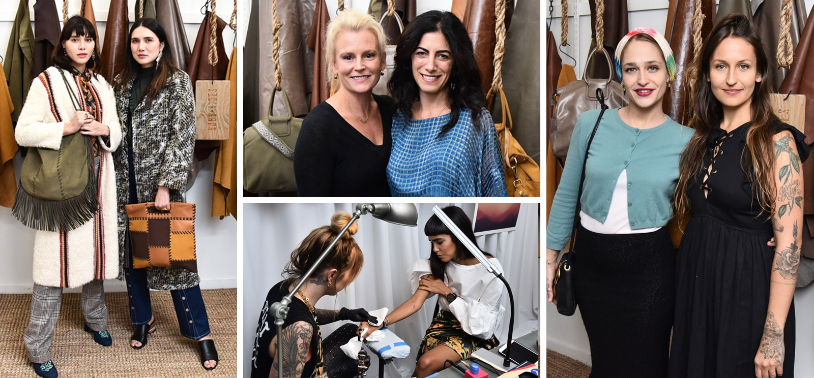 Our VIP Event was a celebration of Jemima Kirke's Hobo Artisan Series with popular NYC Bloggers