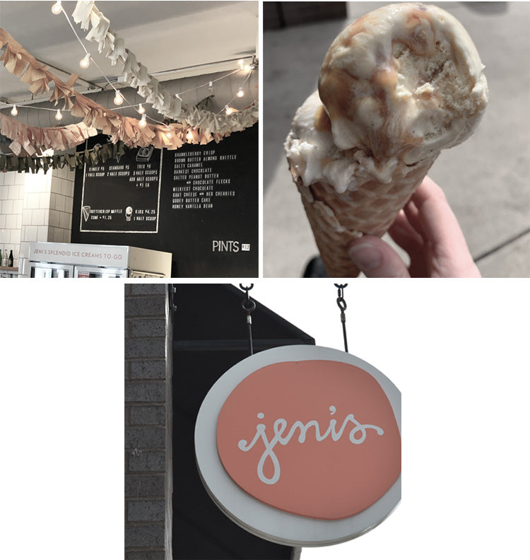Sweet treat stop at Jeni's ice cream in Nashville!