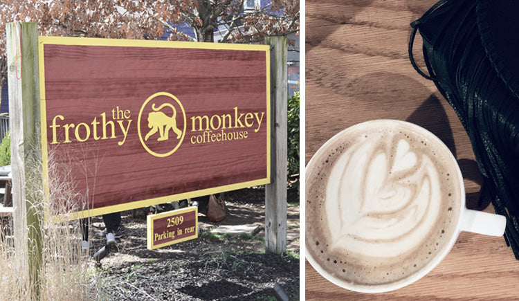 Coffee at Frothy Monkey, Nashville!
