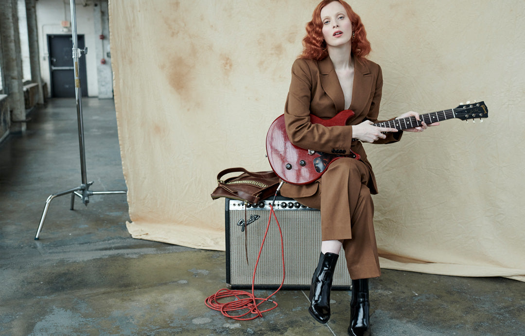 Karen Elson and the Mystic crossbody bag