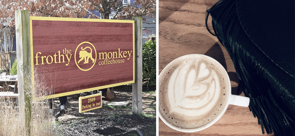 Coffee at Frothy Monkey, Nashville