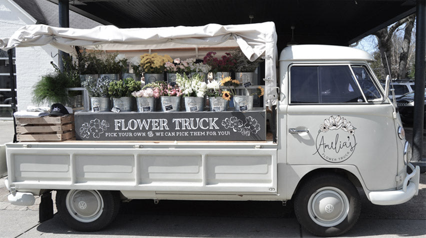 Fresh Blooms at Amelia's Flower Truck