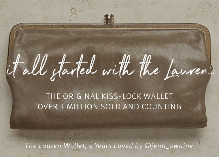 The Lauren // It all started with this wallet - now over 1 millon sold and counting