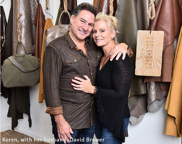 Koren Ray and husband David Brewer, co-owners of Hobo.