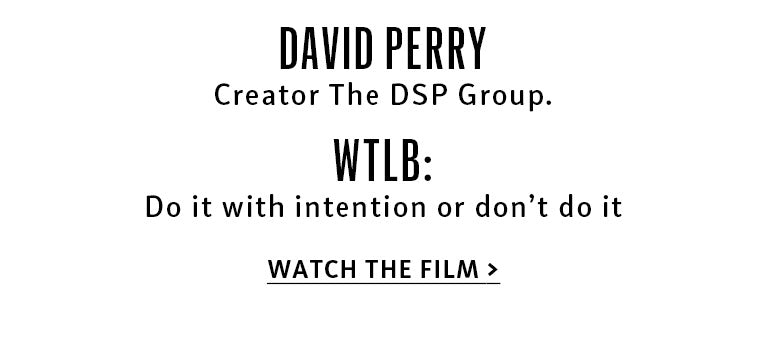 Meet David Perry and watch his film
