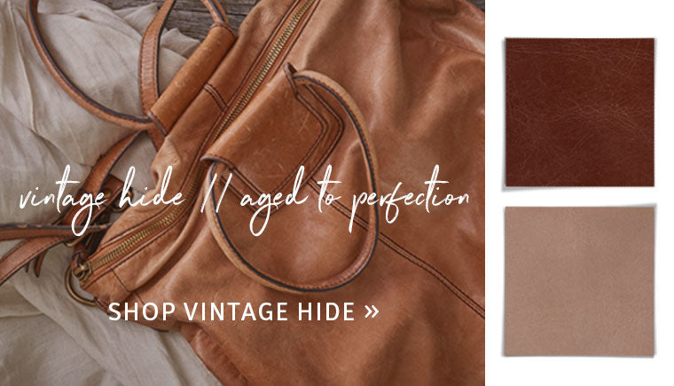 Shop our Vintage Leather Hanbdags and Wallets!