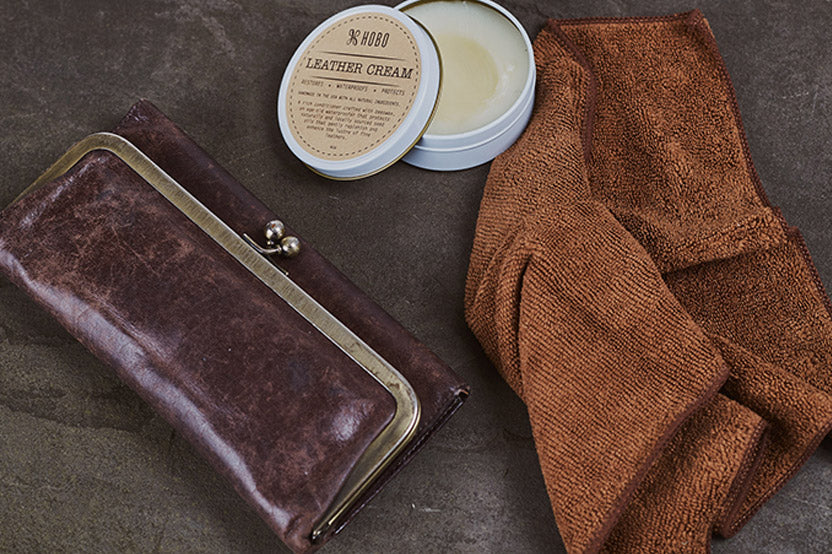 Keep your leather products looking great for years to come with leather cream and spray