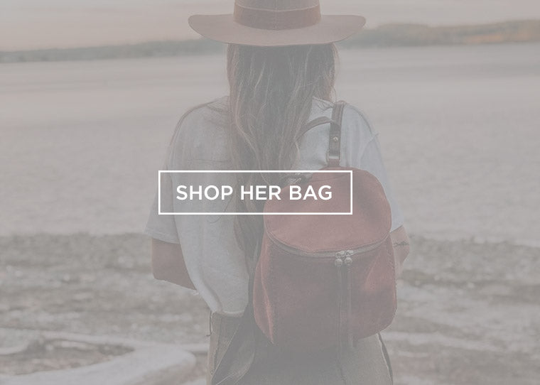 Shop the River Leather Backpack