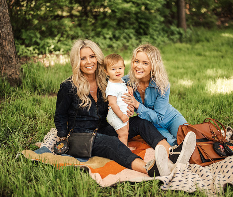 We've teamed up with @hunterpremo, her mom, and son to celebrate Mother's Day with all things HOBO GO.