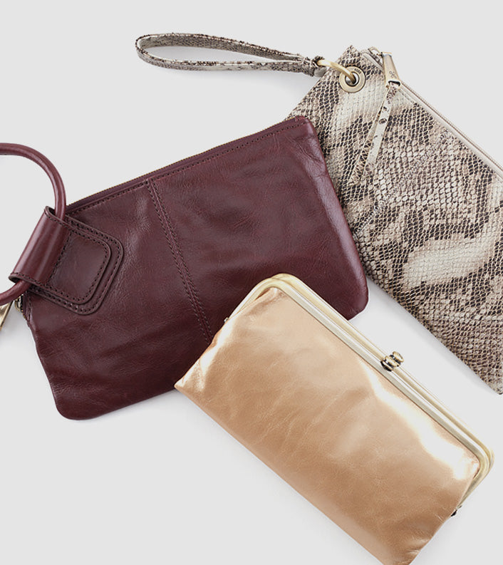 Just in time for the party, the perfect collection of clutches and crossbodies