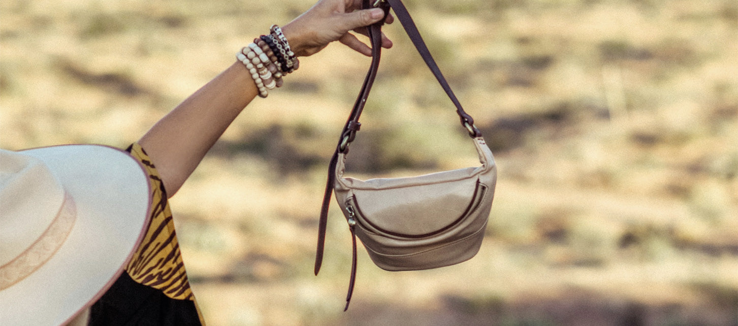 Find the perfect leather handbag for all your summer adventures