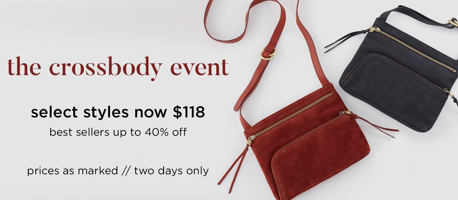 Shop Our Crossbody Event, Select Crossbody Styles $118