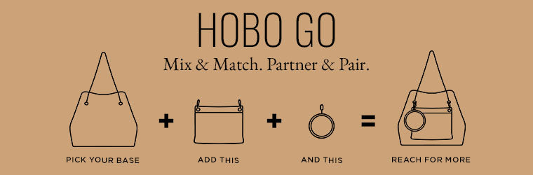 Meet the new accessory for accessories. Shop the new HOBO GO collection.