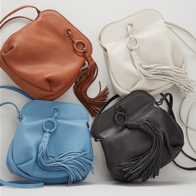Shop The Birdy Leather Crossbody Handbag and more Best Sellers