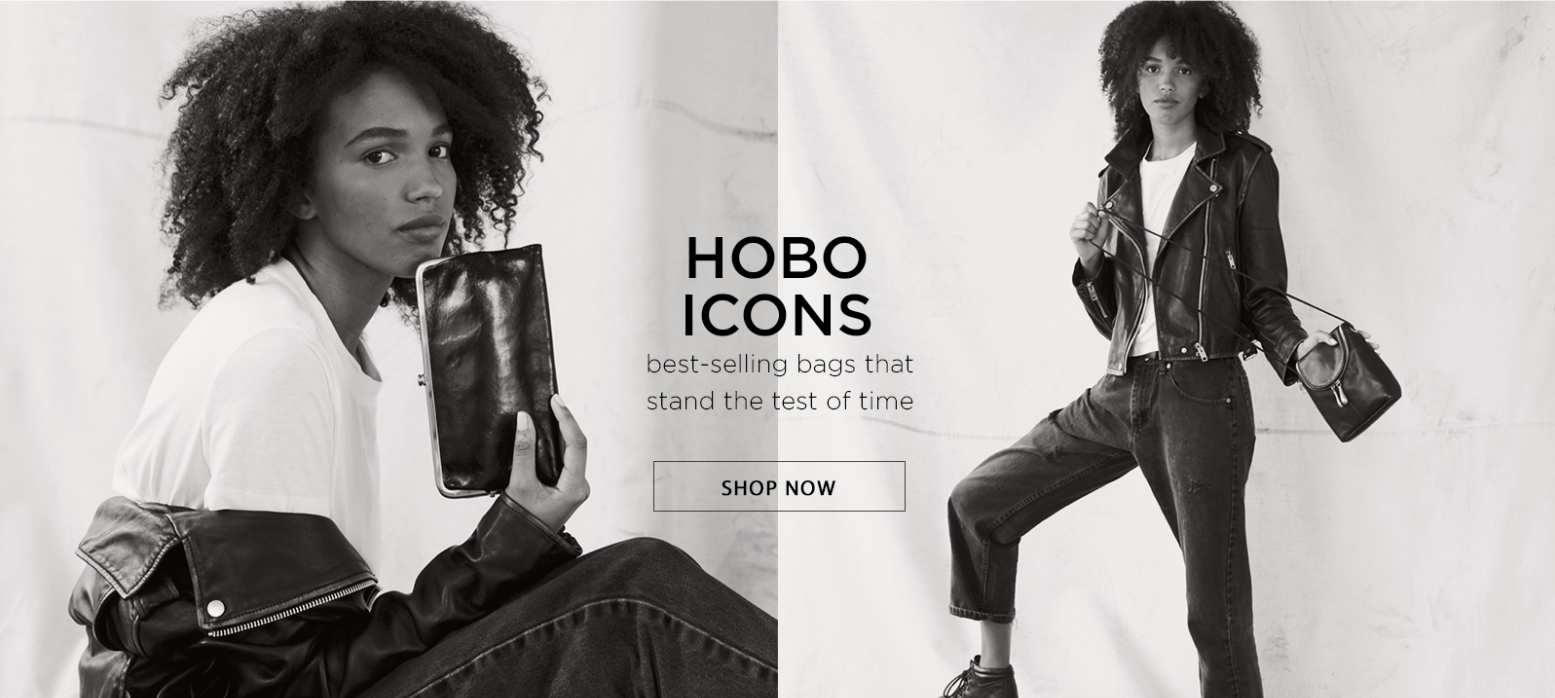 Hobo Icons - best-selling bags that stand the test of time. Shop Now!
