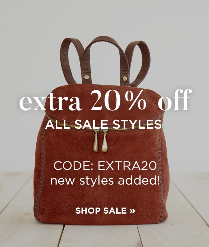 Take an extra 20% off all sale styles with code EXTRA20