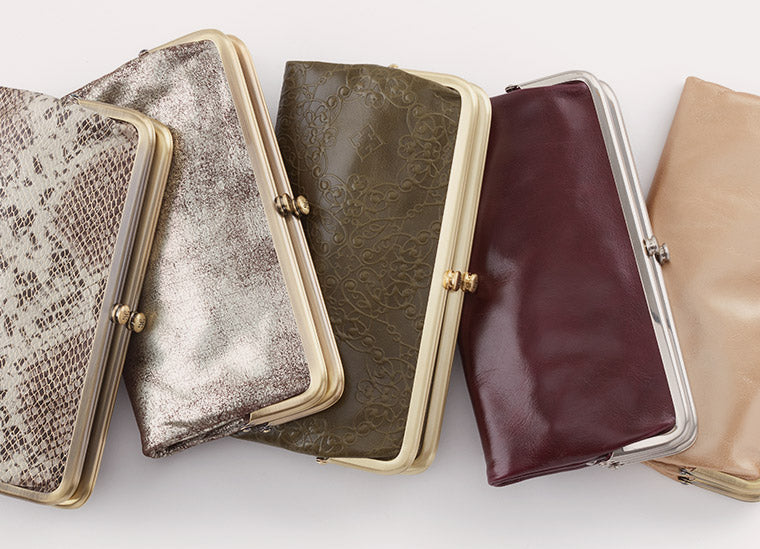 The Lauren Leather Clutch Wallet