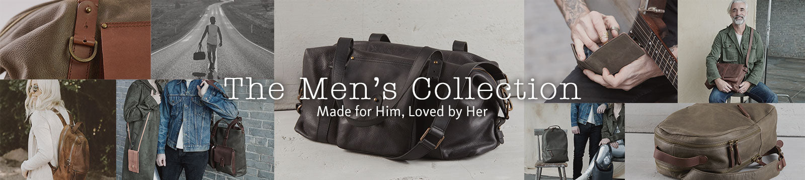 Leather bags and wallets for Men