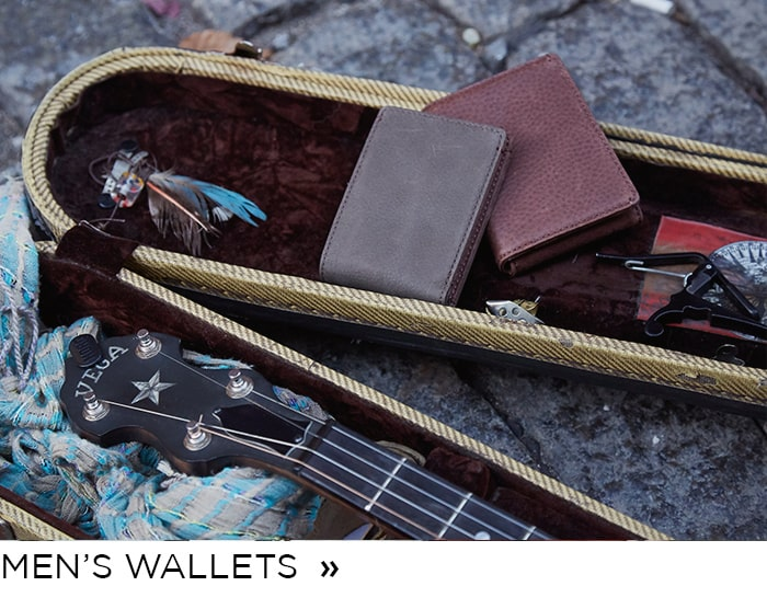 Shop Men's Leather Wallets