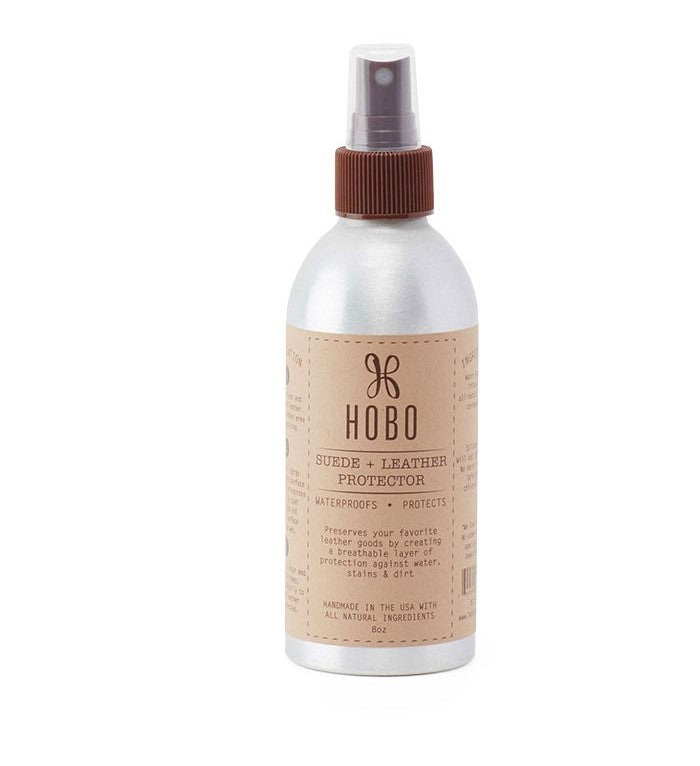 Use Leather Protector Spray to protect your new leather and help prevent stains and marks.