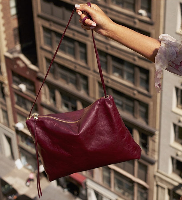 Shop the Ziggy and more new styles in Holiday Leather Hues
