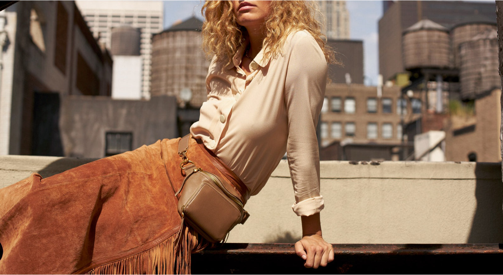 shop this season's color - neutral brown leather