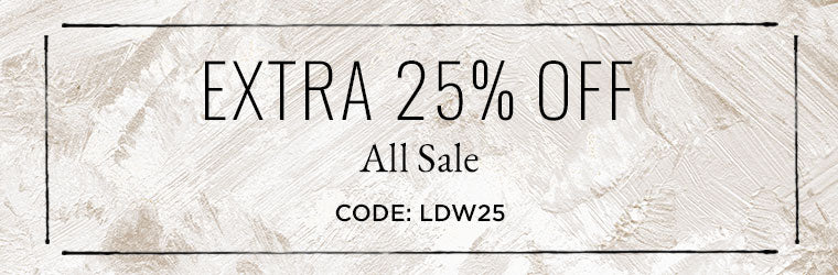 Sale On Sale Happening Now - Extra 25% Off All Sale! Code: LDW25