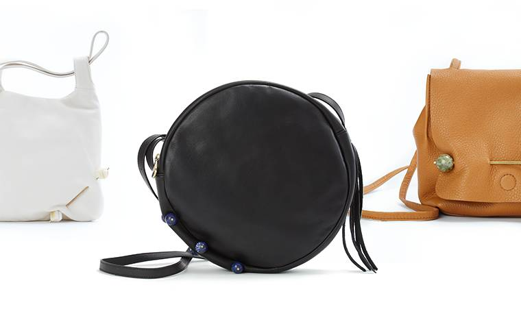 New York Jewlery Designer Pamela Love pierces three classic Hobo handbags with her designs in our collaboration.