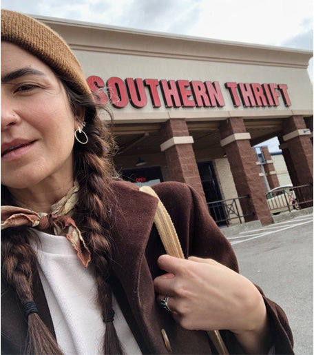 Southern Thrift, a local thrift store that Jessica loves!